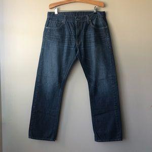 Levis 514 Men's Slim Straight Jeans Size 36 X 32